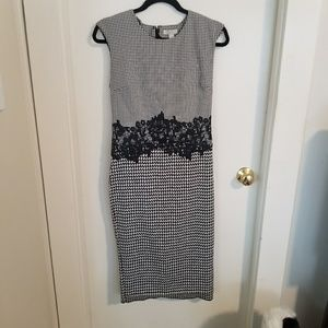 Houndstooth dress from NY and Co Size Small
